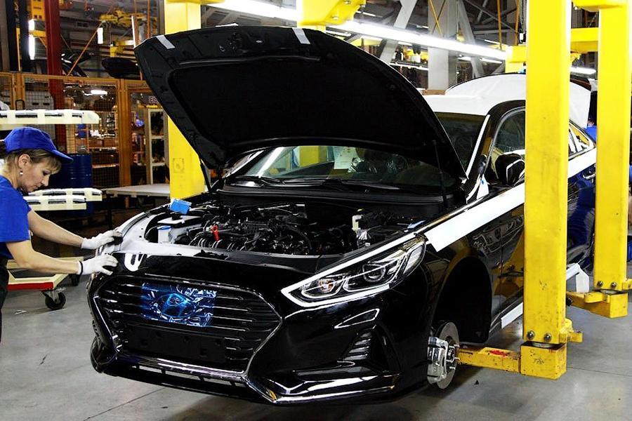 Hyundai Sonata начали собирать в России