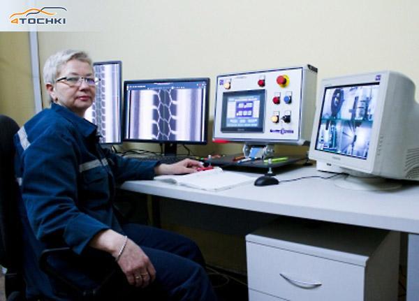Бобруйские мега-шины проходят жесткий рентген-контроль качества