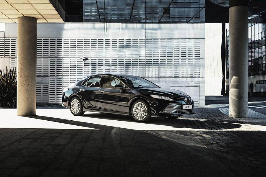 Объявлены цены на новую Toyota Camry