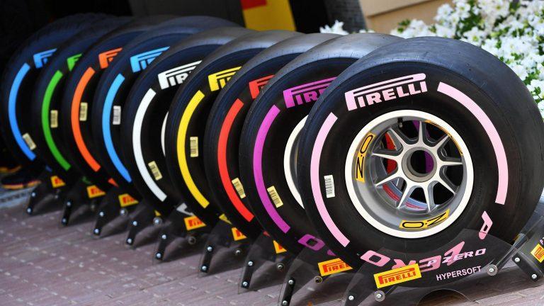 Пирелли уменьшит толщину протектора шин для Формулы-1