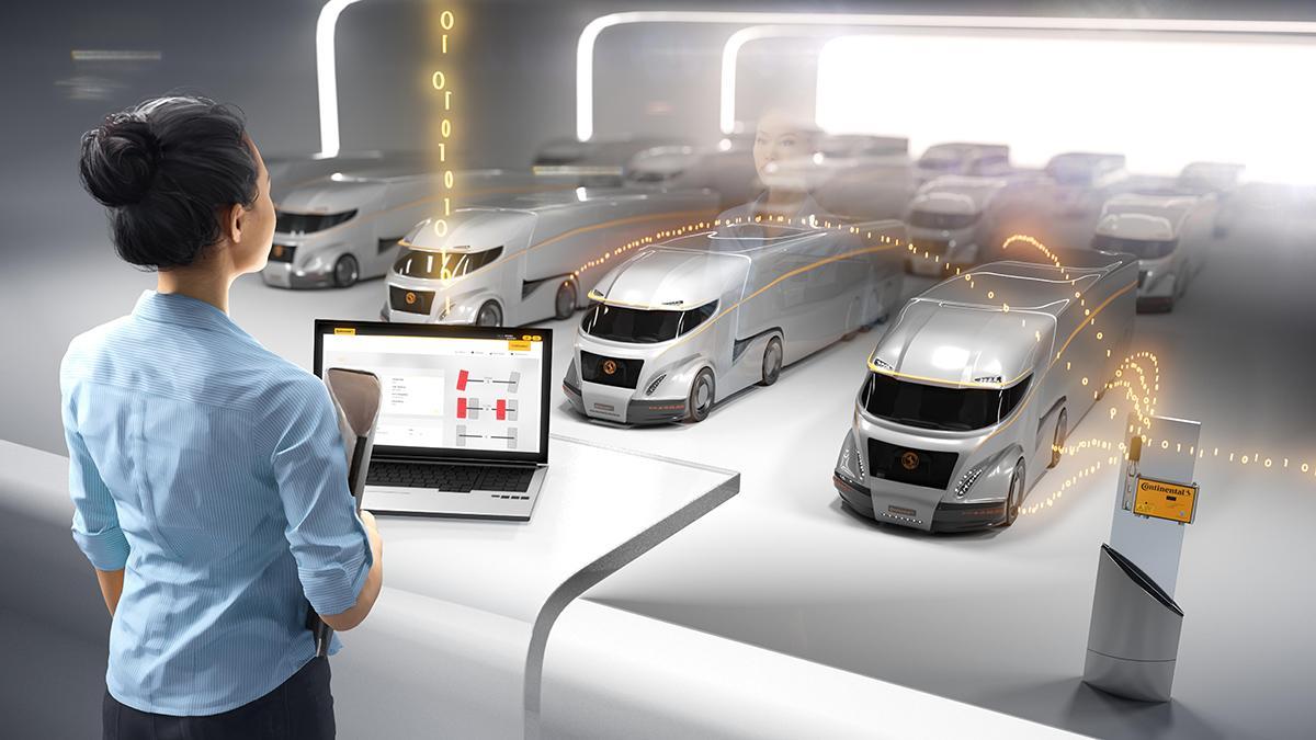 Система мониторинга грузовых шин Continental ContiConnect выходит на мировой рынок