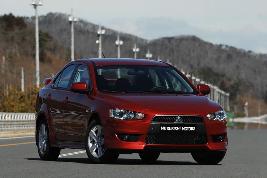 В России попали под отзыв Mitsubishi Lancer