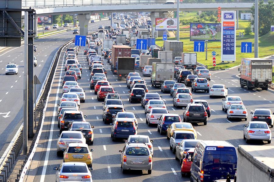 ЦОДД отчитался о росте средней скорости в Москве