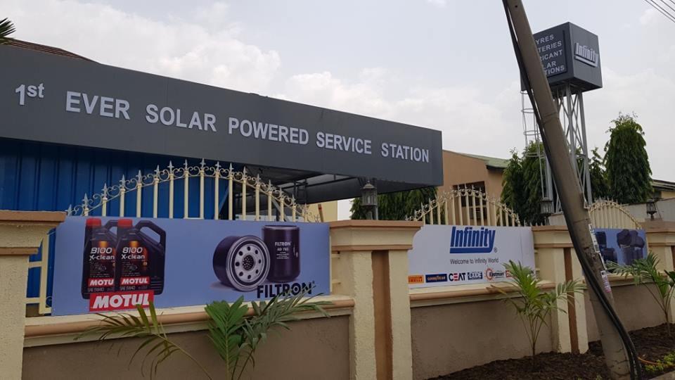 Новый шинный центр Infinity Tyres в Нигерии будет работать на солнечной энергии