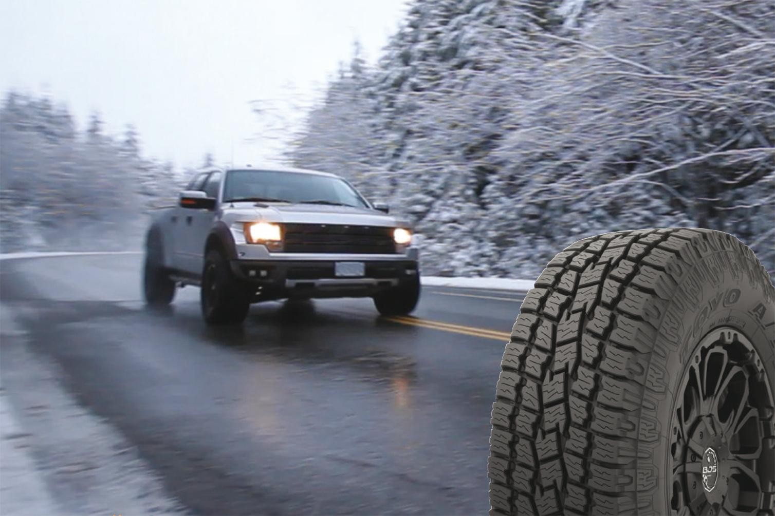 Toyo Tires представила новую всесезонку Open Country A/T II AW для суровых зим
