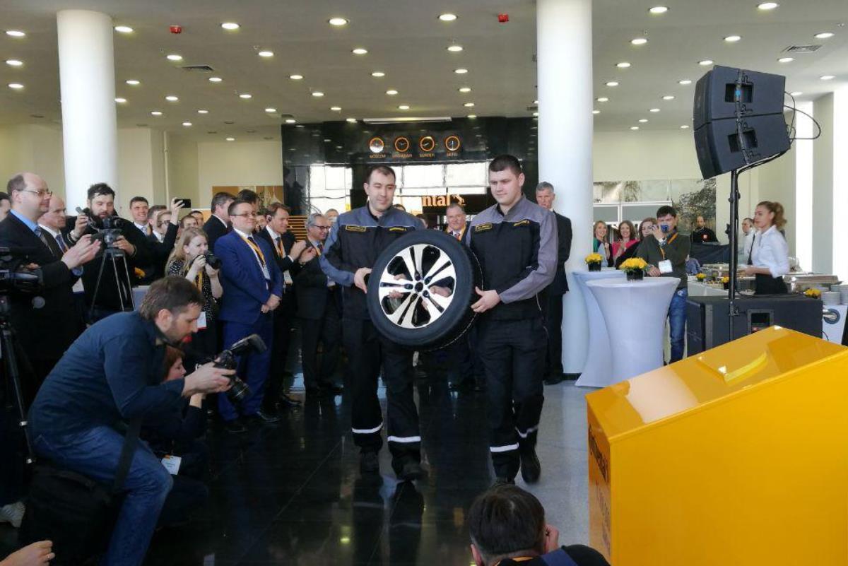 Завод Continental в Калуге выпустил 10-миллионную шину