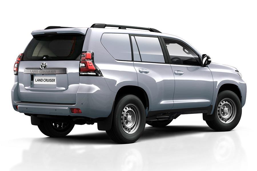 Toyota сделала из Prado развозной фургон