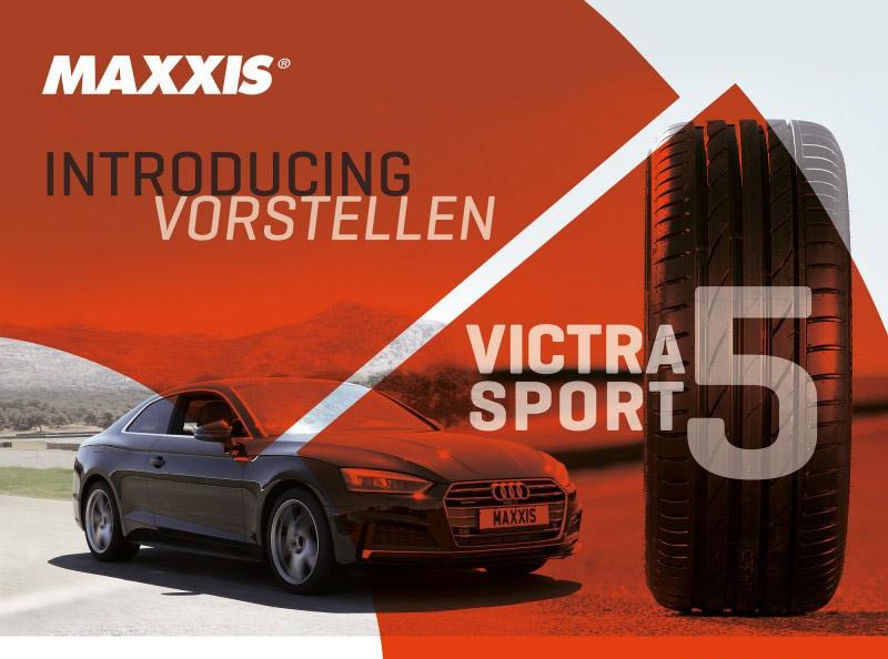 Maxxis готовит к выставке в Кельне мировую премьеру шин Victra Sport 5