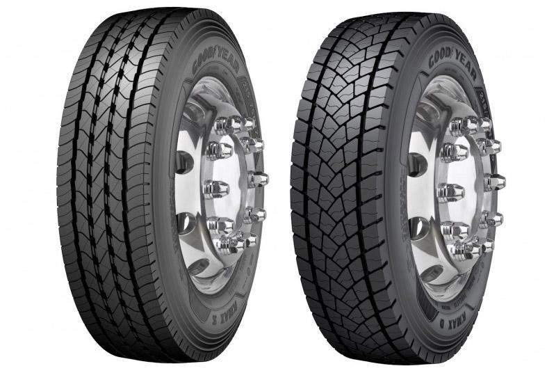 Goodyear развивает линейки грузовых шин Kmax S и Kmax D