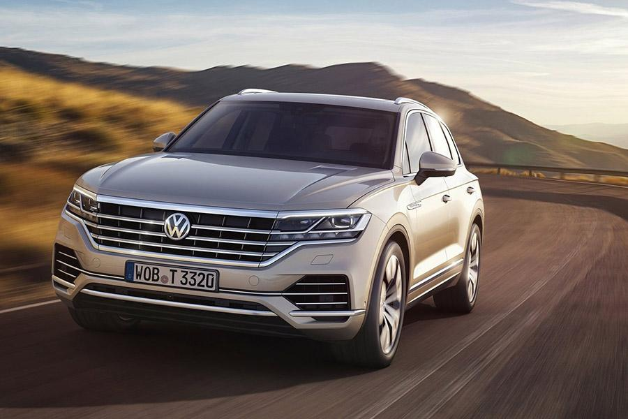 Названа цена нового Volkswagen Touareg