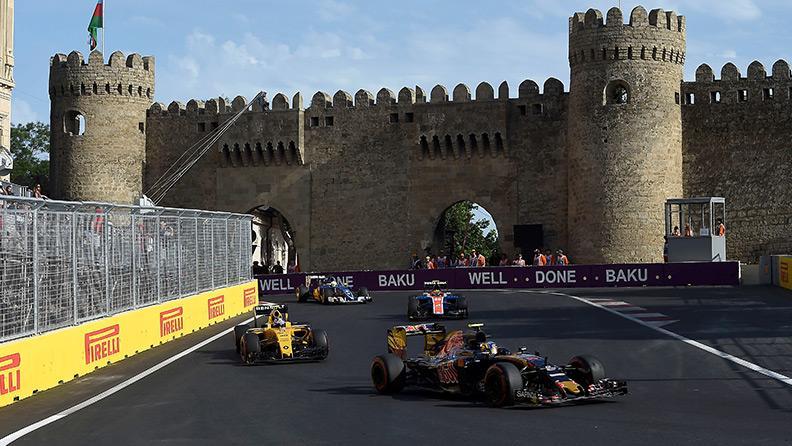 Команды F1 выбрали шины на Гран-при Азербайджана