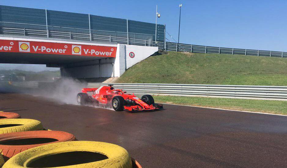 Даниил Квят будет тестировать дождевые шины Pirelli