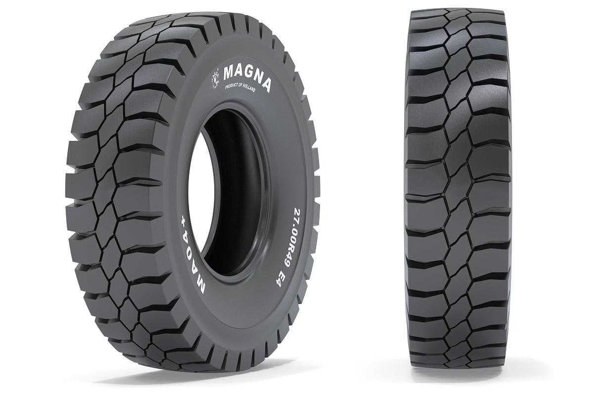 MA04+ Giant - новое решение от Magna Tyres для карьерных самосвалов