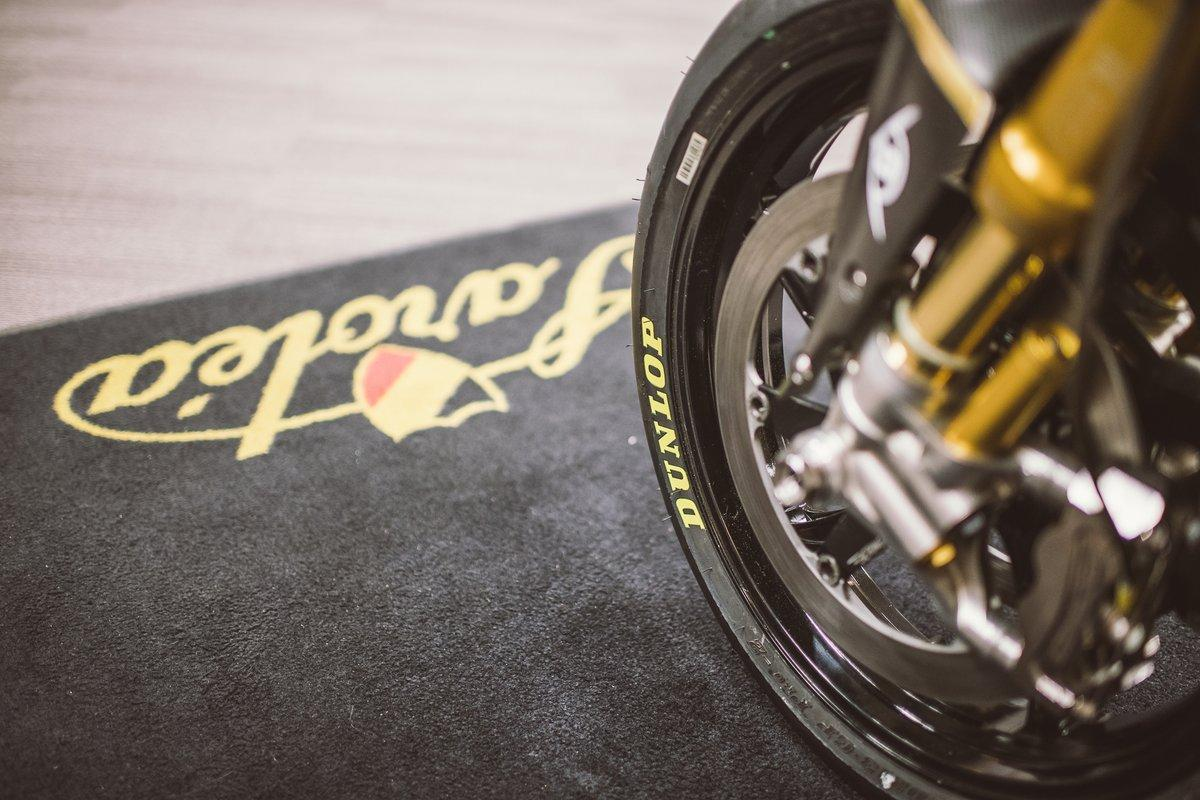 Sarolea меняет резину Bridgestone на Dunlop