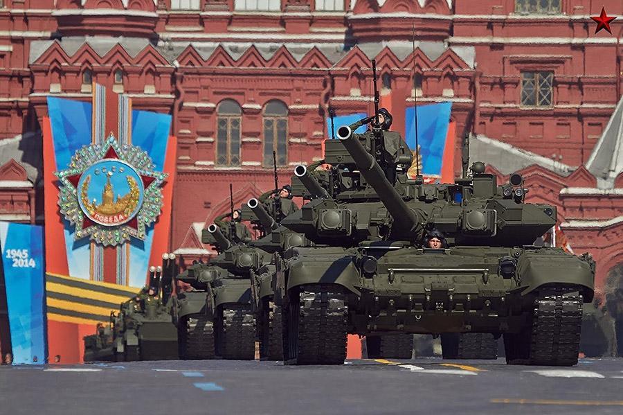 Какие улицы перекроют в Москве при репетициях парада