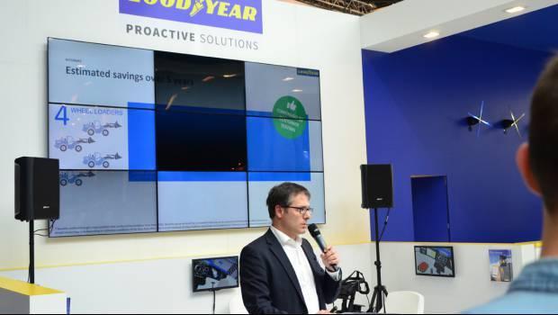 Goodyear усовершенствовала систему мониторига EMTrack