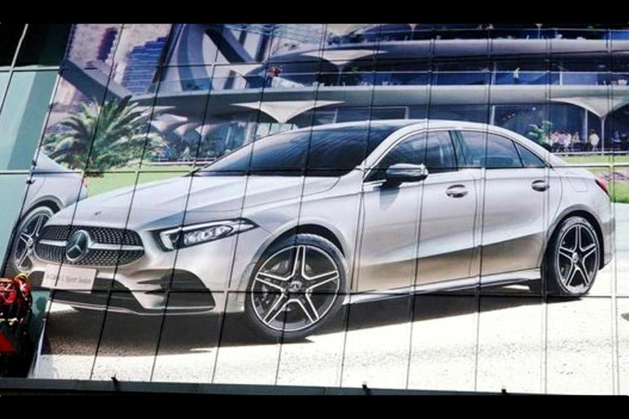 Седан Mercedes A-Class: первое фото