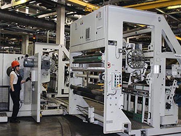 На «Нижнекамскшине» увеличили производительность линии раскроя металлокорда