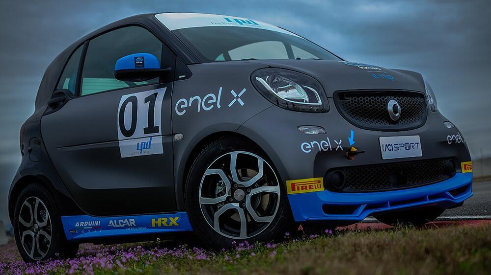 Организаторы серии Smart EQ fortwo e-cup 2018 выбрали шины Pirelli Cinturato P1 Verde