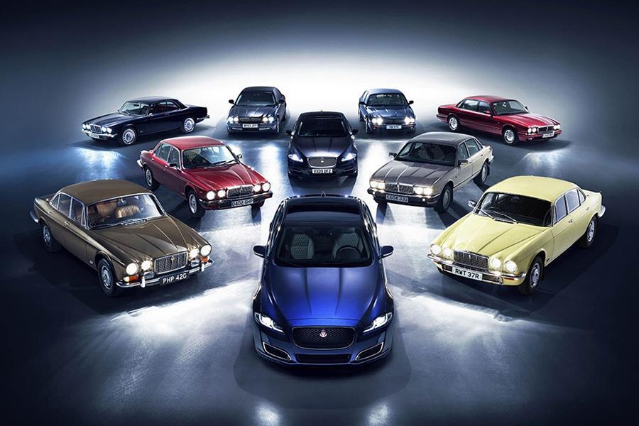 Jaguar XJ празднует 50-летие
