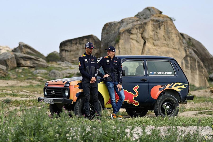 Пилоты Формулы-1 освоили «Ниву»