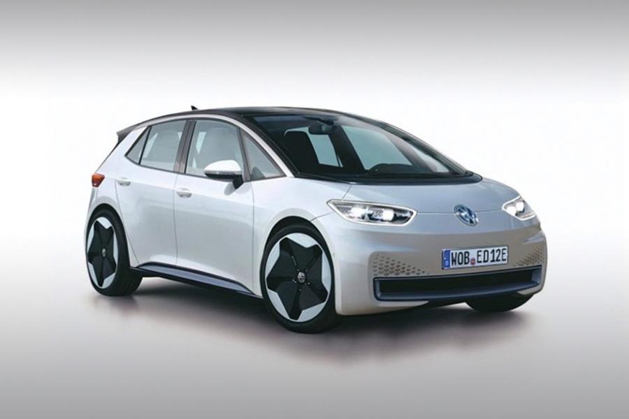 В сети появилось фото первого электромобиля Volkswagen