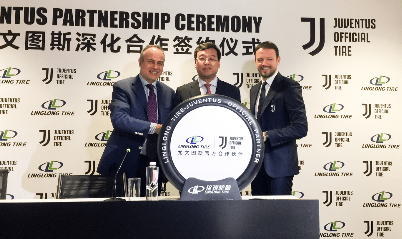 Linglong Tire и «Ювентус» отпраздновали начало партнерства в Италии