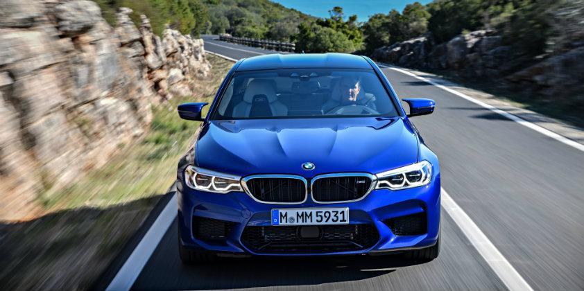 BMW выбрала для новых M5 сверхвысокопроизводительную резину ADVAN Sport V105