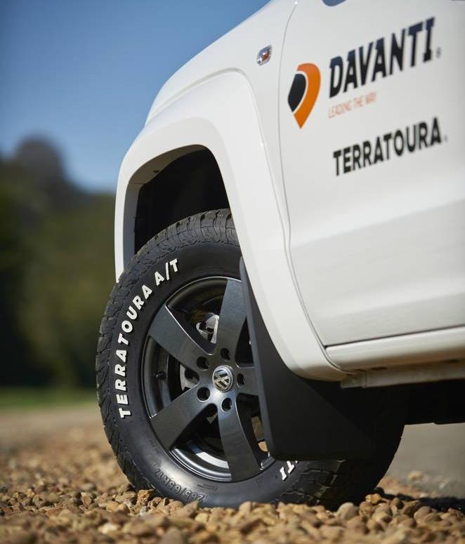 Davanti Tyres представила свою первую вседорожную шину Terratoura A/T