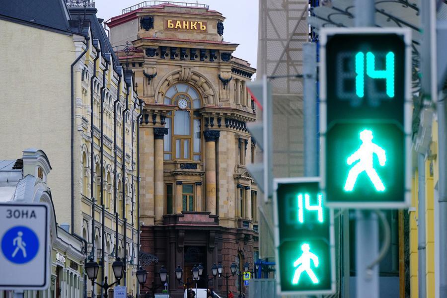 В Москве изменили алгоритм работы пешеходных светофоров