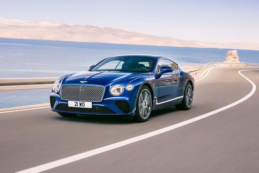 Названа стоимость купе Bentley Continental GT