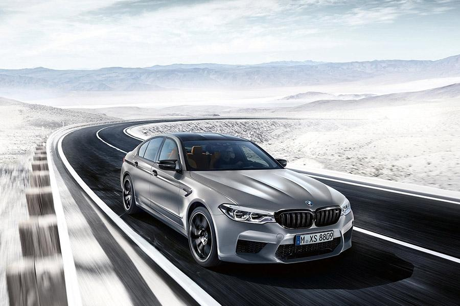BMW M5 сделали еще мощнее и быстрее