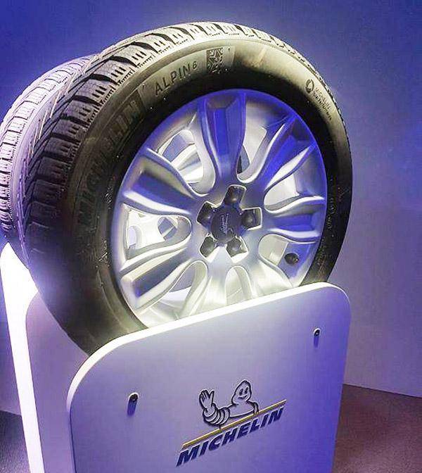 На выставке в Кельне пройдет мировая премьера зимних шин Michelin Alpin 6