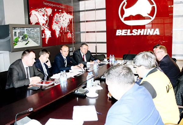Руководство «Нижнекамскнефтехима» и «Белшины» обсудили вопросы сотрудничества