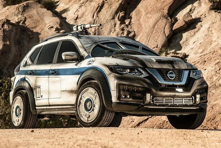 Nissan построил автомобиль для Хана Соло и Чубакки