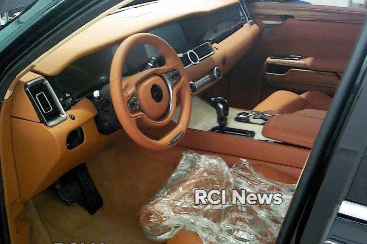 Опубликовано первое фото салона лимузина «Аурус»