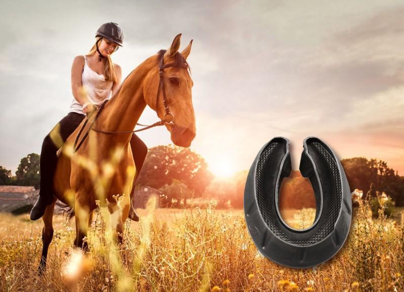 Шинники Continental разработали «обувь» для лошадей