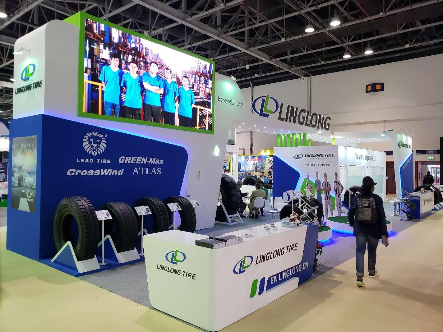 Linglong Tire на выставке Automechanika Dubai 2018