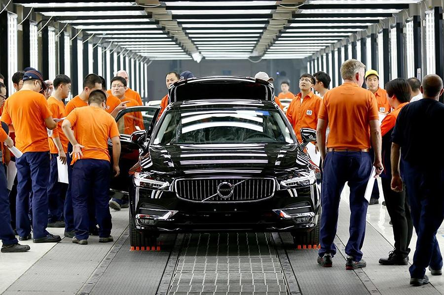 Volvo назвала китайскую сборку более качественной, чем европейская