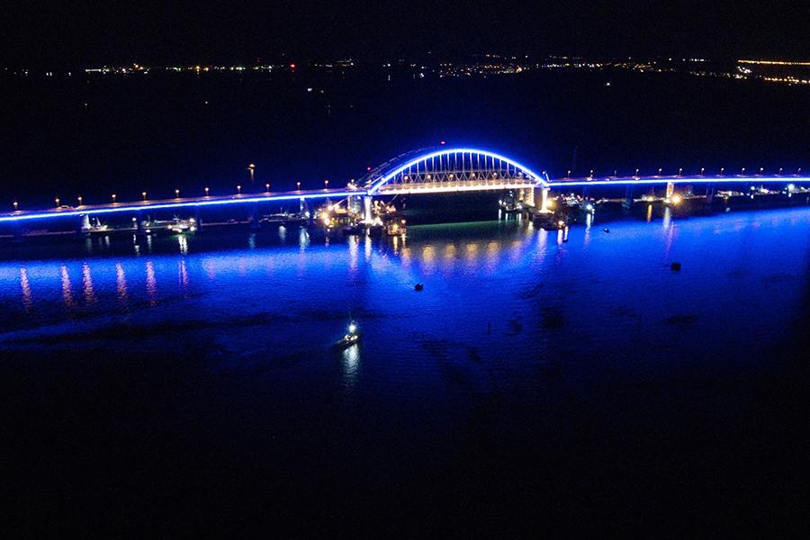 Стало известно точное время открытия движения по Крымскому мосту