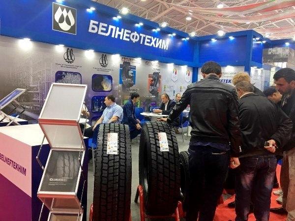 «Белшина» представила свои шины на выставке в Таджикистане