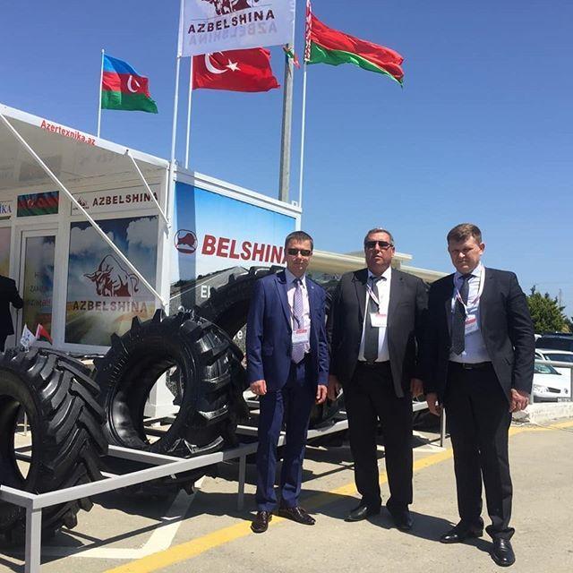 Белорусские агрошины представили на выставке Caspian Agro 2018 в Баку