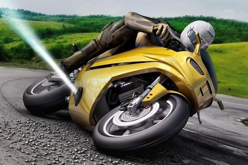 В Bosch придумали, как уберечь мотоцикл от падения