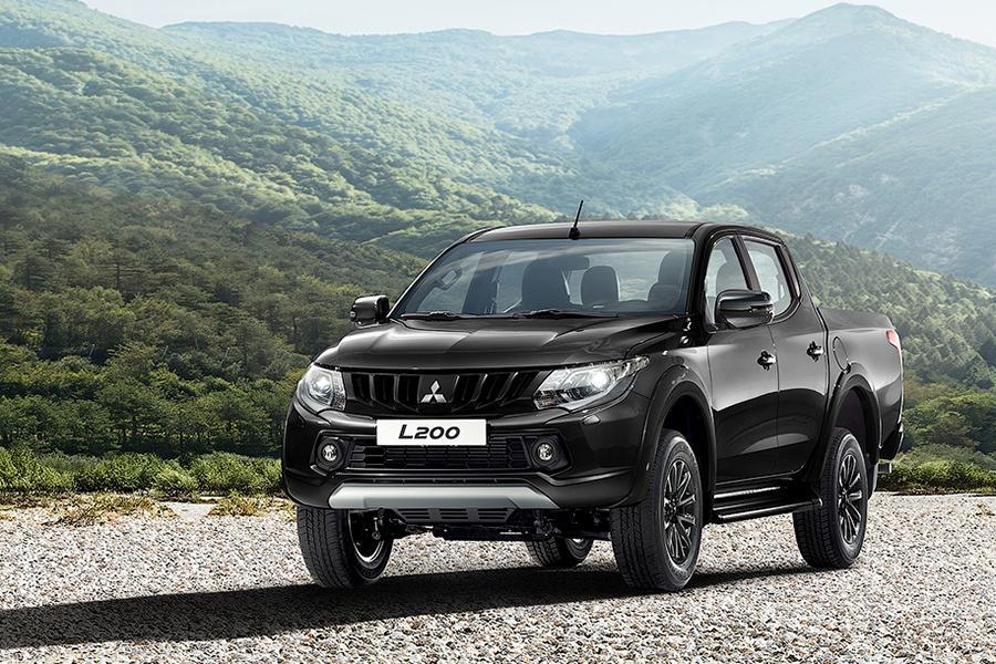 Mitsubishi L200 предлагают купить в «черной» спецсерии