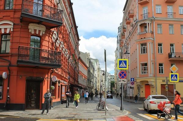 В Москве появилась улица с ограничением 20 км/ч