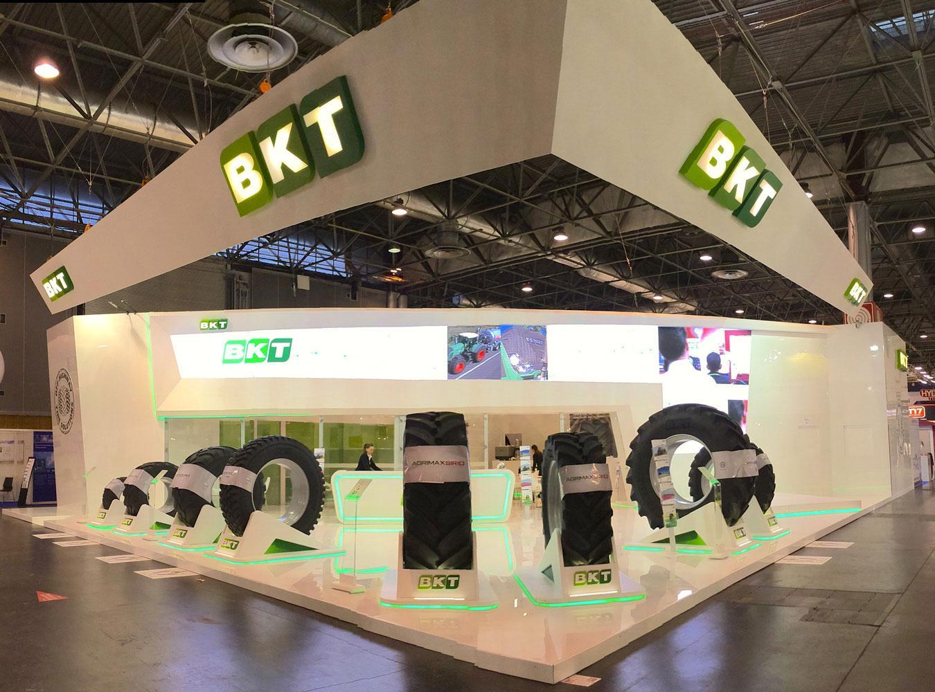 BKT везет в Кёльн свои топовые модели сельскохозяйственных и индустриальных шин