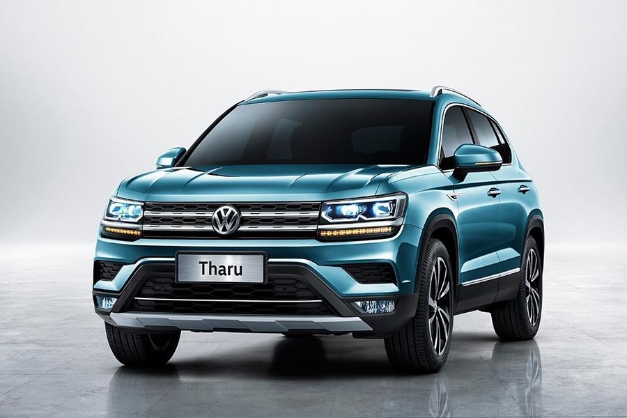 Volkswagen показал официальные фотографии кроссовера Tharu