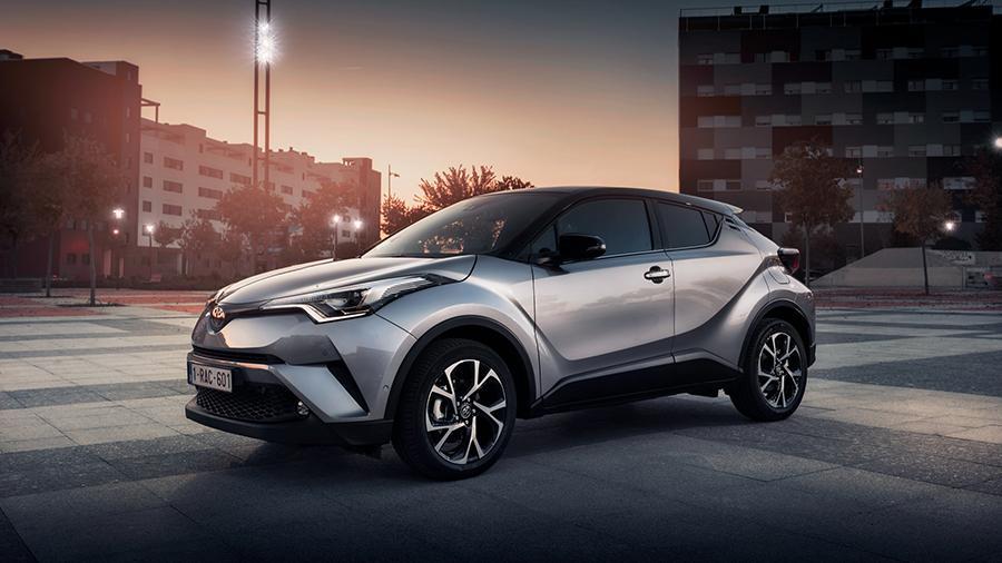 Стала известна стоимость Toyota C-HR