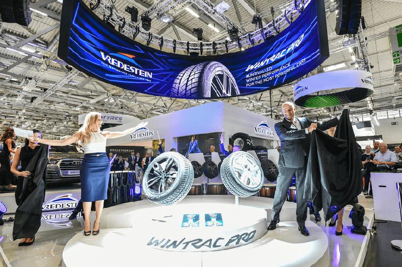 Зимняя UHP-шина Vredestein Wintrac Pro дебютировала на The Tire Cologne 2018