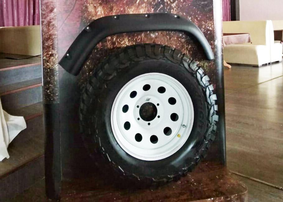 BFGoodrich запускает в России новую грязевую шину Mud-Terrain T/A KM3